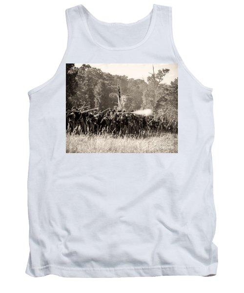 Gettysburg Union Infantry 9372s Tank Top