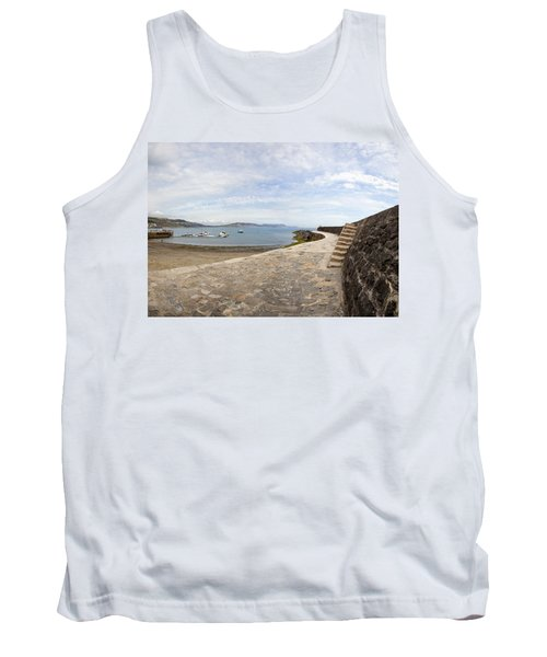 Harbour Wall Lyme Bay Dorset Tank Top