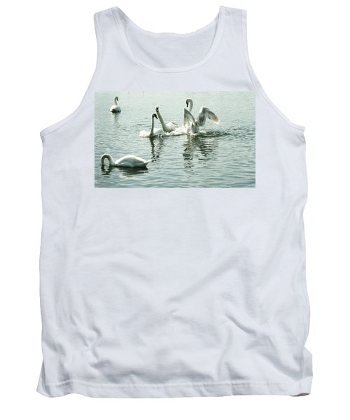 I Think He Means It..... This Time........ Tank Top by Martina Fagan