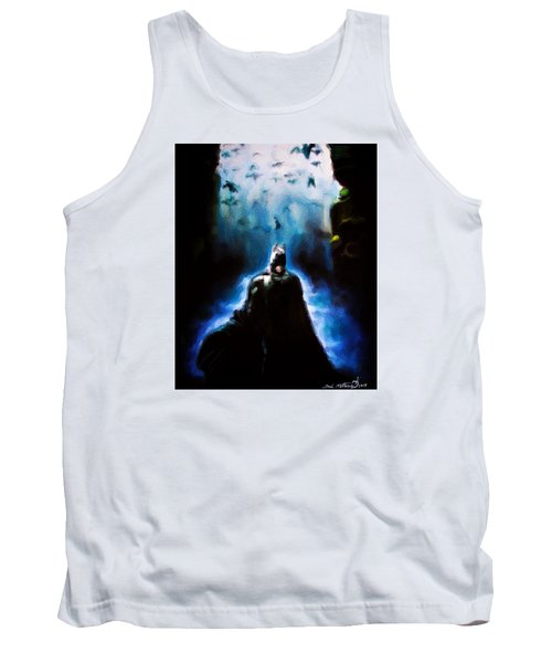 Tank Top featuring the painting  Into The Cave by Darryl Matthews