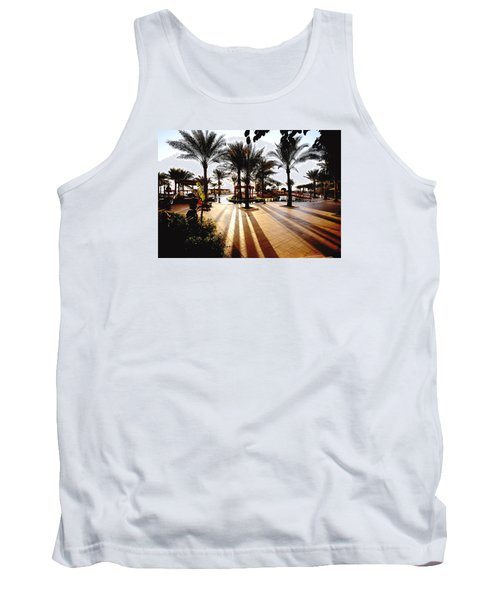 Silhouettes Tank Top by Marwan Khoury