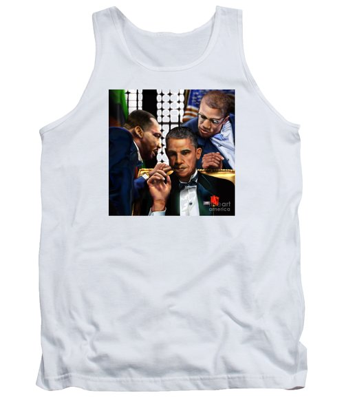 Sub Rosa The Council Of Made Men Iron Sharpening Iron Tank Top by Reggie Duffie