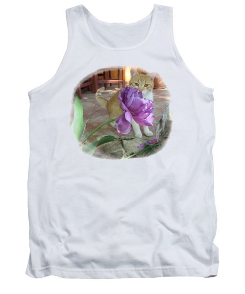 You See Me Tank Top by Vesna Martinjak
