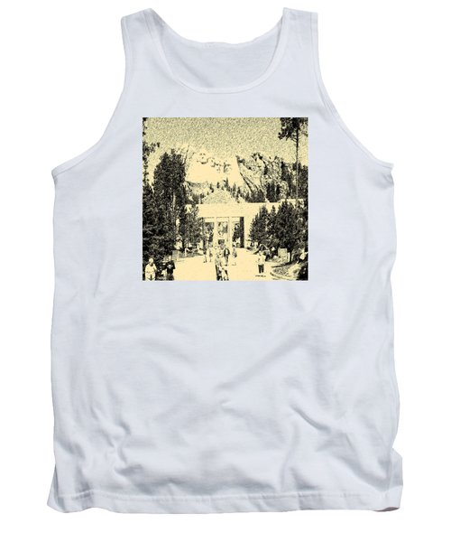 04252015 Mount Rush More Tank Top