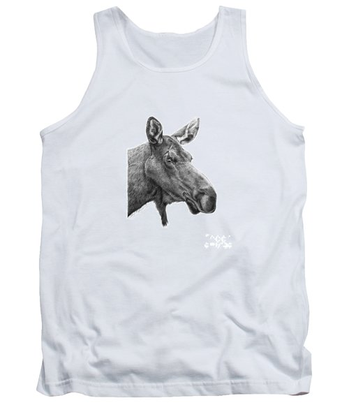 048 - Shelly The Moose Tank Top