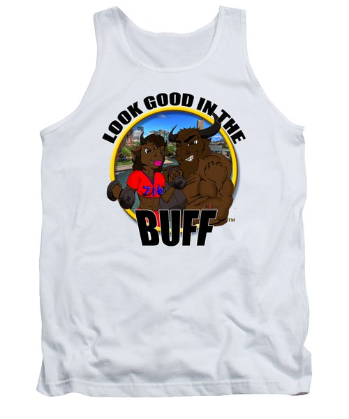 05 Look Good In The Buff Tank Top by Michael Frank Jr