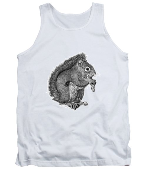 058 Sweeney The Squirrel Tank Top