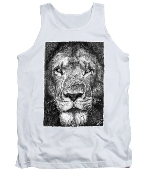 059 - Lorien The Lion Tank Top by Abbey Noelle