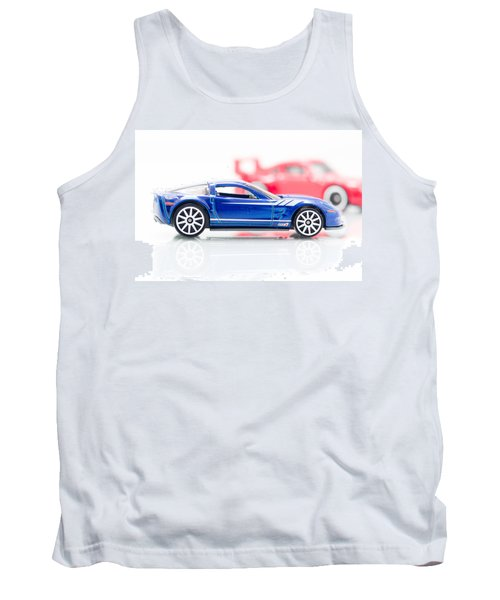 Tank Top featuring the photograph 09 Zr1 by Wade Brooks