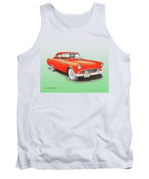 1956 Ford Thunderbird Tank Top