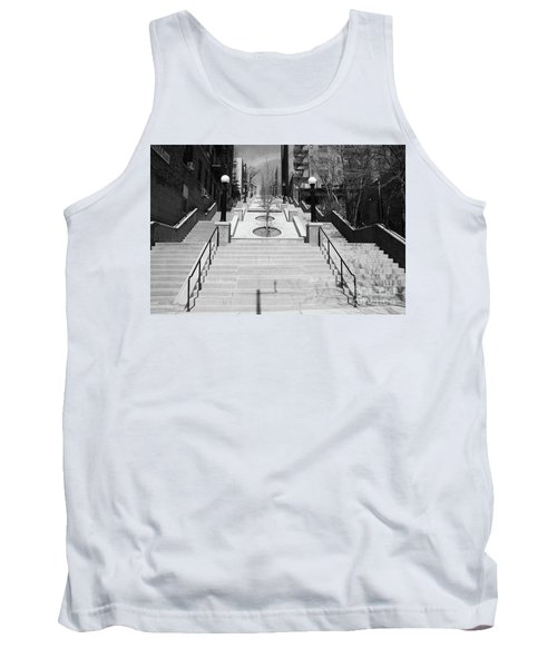 215th Street Stairs Tank Top