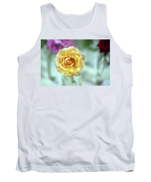 A Rose Is A Rose Tank Top