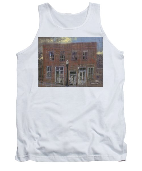 Tank Top featuring the painting Abandoned by Donald Maier