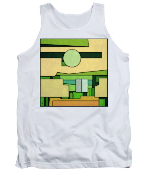 Abstract Cubist Tank Top