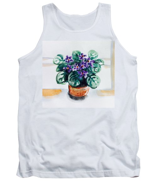 African Violet  Tank Top by Hae Kim