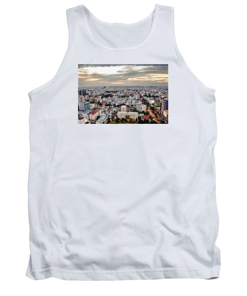 Afternoon On The City Tank Top