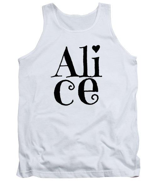 Alice Tank Top by Alice Gipson