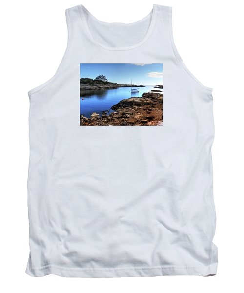 Tank Top featuring the photograph Almost Paradise Newport Ri by Tom Prendergast