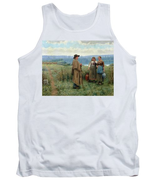 An Idle Moment Tank Top