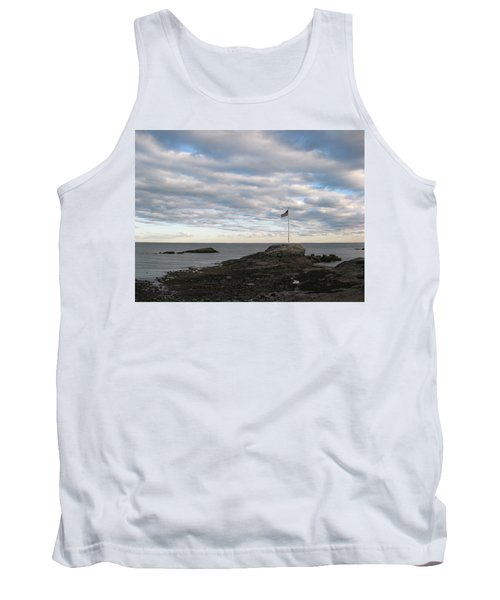 Tank Top featuring the photograph Anchor Beach by John Scates