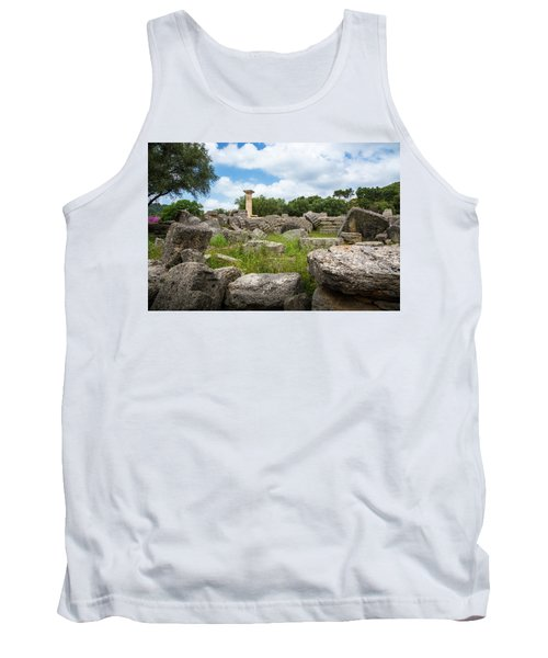 Ancient Olympia / Greece Tank Top by Stavros Argyropoulos