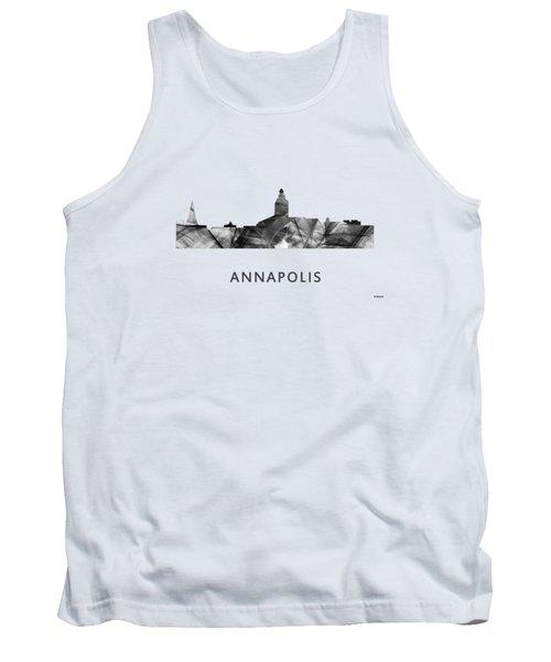 Annapolis Maryland Skyline      Tank Top