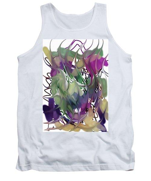 Art Abstract Tank Top