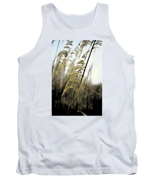 Artistic Grass - Pla377 Tank Top by G L Sarti