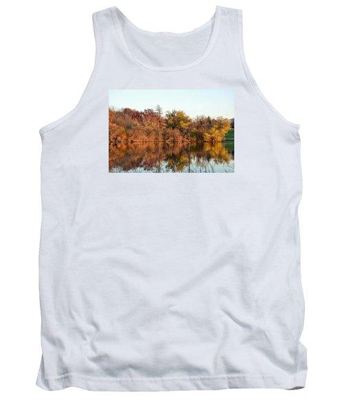 Autumn Reflections Tank Top by Nikki McInnes