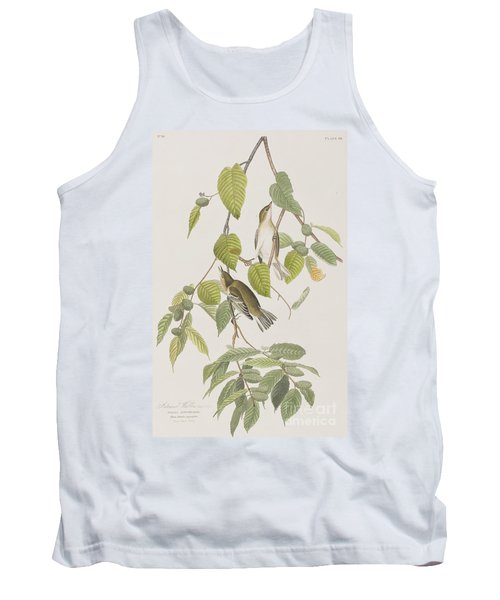 Autumnal Warbler Tank Top by John James Audubon