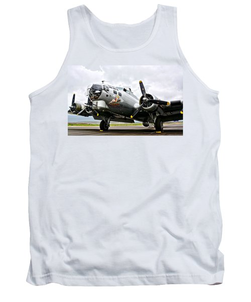 B-17 Bomber Airplane  Tank Top
