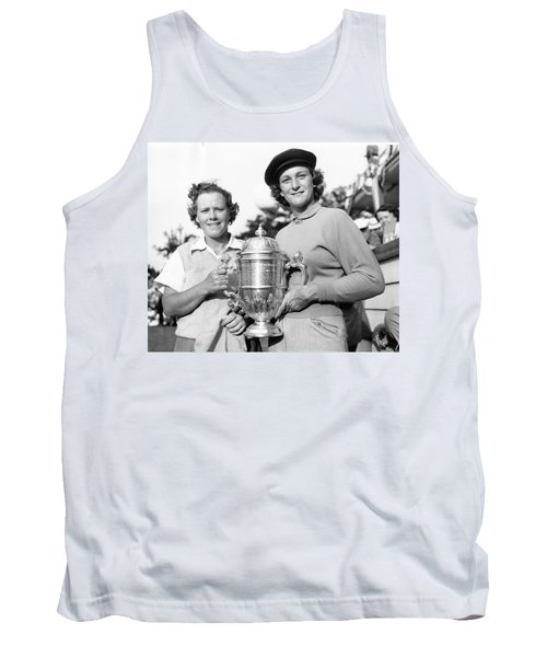 Patty Berg And Babe Didrikson Tank Top