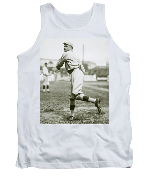 Babe Ruth Pitching Tank Top
