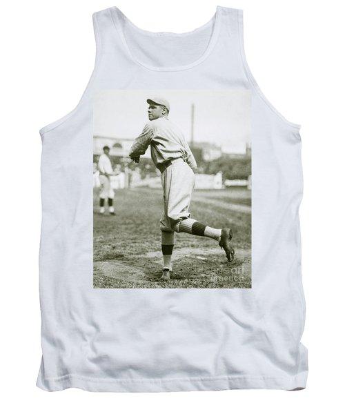 Babe Ruth Pitching Tank Top