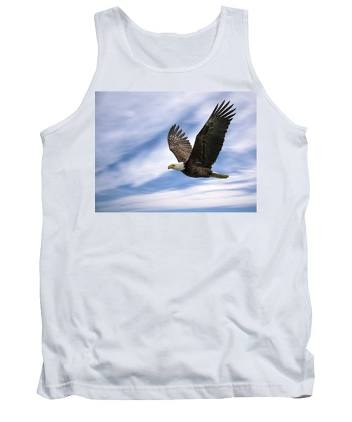 Bald Eagle - 365-12 Tank Top by Inge Riis McDonald