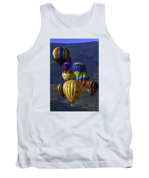 Balloons Over Reno Tank Top by Dorothy Cunningham