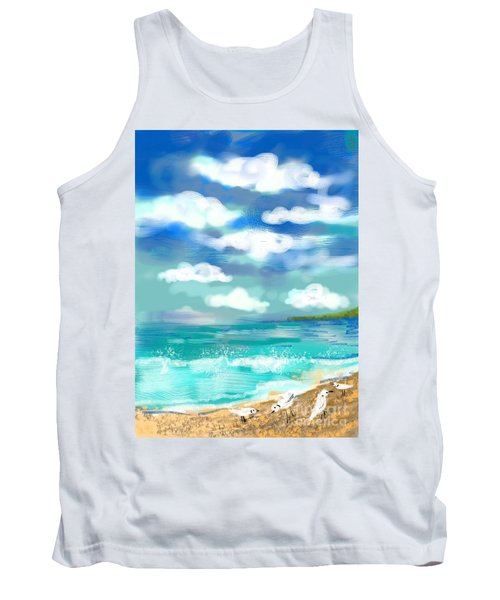 Beach Birds Tank Top