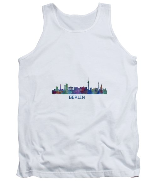 Berlin City Skyline Hq 1 Tank Top by HQ Photo
