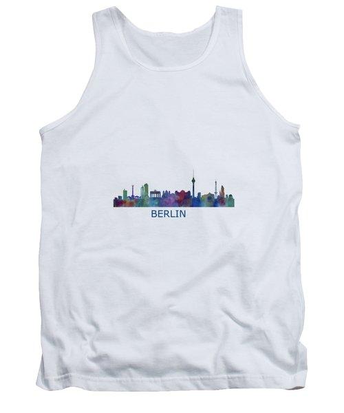 Berlin City Skyline Hq 1 Tank Top