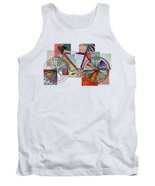 Bike Art Tank Top