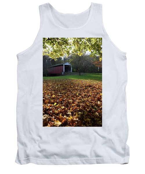 Billy Creek Bridge Tank Top by Joanne Coyle