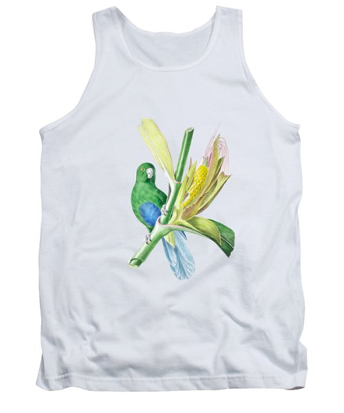 Brazilian Parrot Tank Top by Philip Ralley