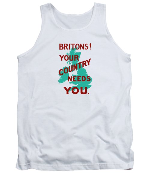 Britons Your Country Needs You Tank Top