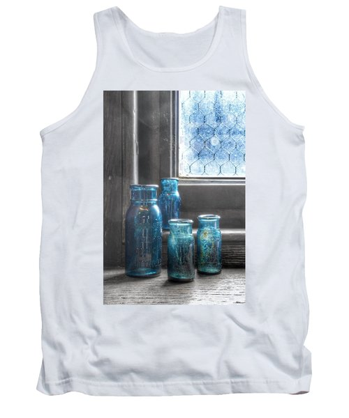Bromo Seltzer Vintage Glass Bottles Tank Top
