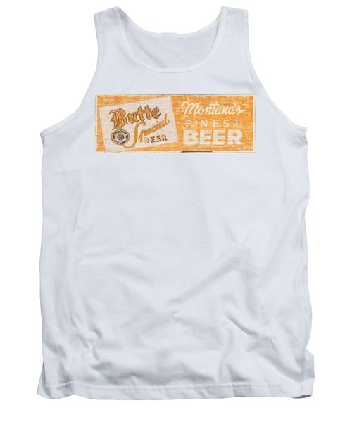 Butte Special Beer Ghost Sign Tank Top