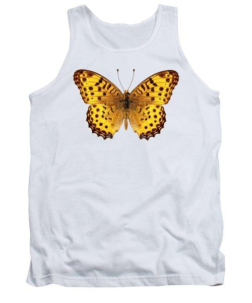 Butterfly Species Argynnis Hyperbius  Tank Top