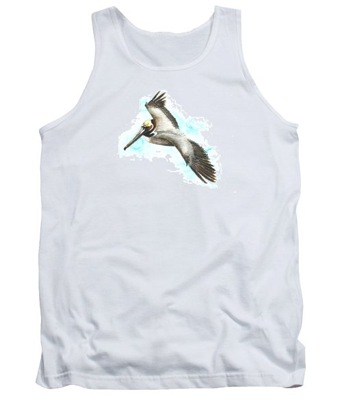 California Brown Pelican Tank Top