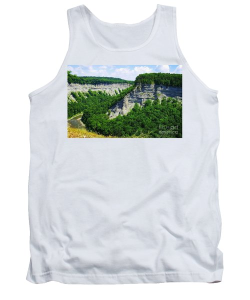 Tank Top featuring the photograph Canyon  by Raymond Earley