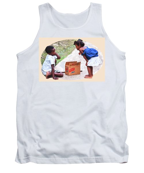 Caribbean Kids Illustration Tank Top