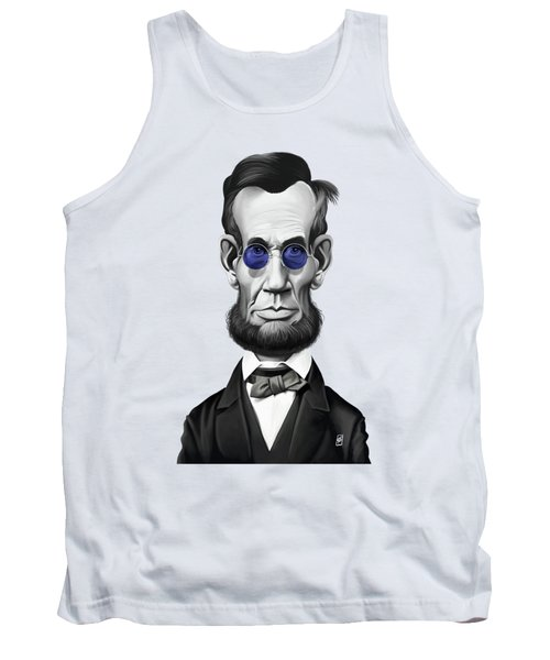 Celebrity Sunday - Abraham Lincoln Tank Top by Rob Snow